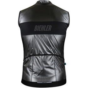 Biehler Defender Gilet Men, Plateado/negro